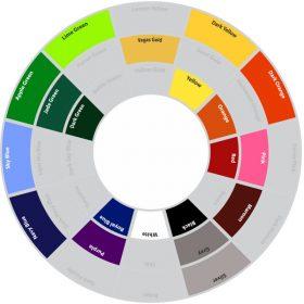 NuOla Micro Mesh colour wheel